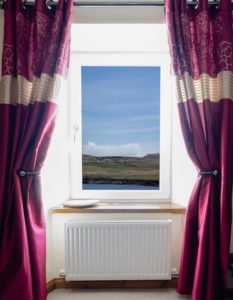 Aird Cottage :: The view from the living room