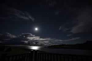 Aird Cottage :: Bright moonlight