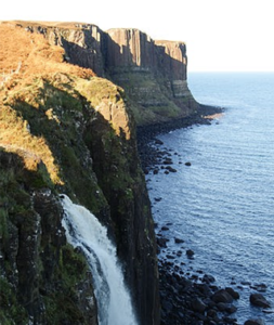 Aird Cottage :: waterfall