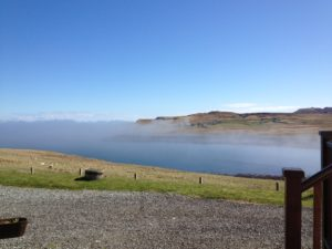 Aird Cottage :: Mist - passing through