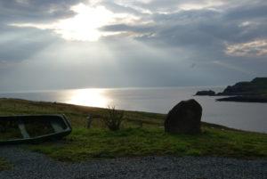 Aird Cottage :: Sunshine breaking through